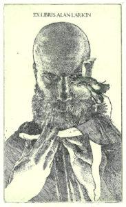 Ex Libris Alan Larkin