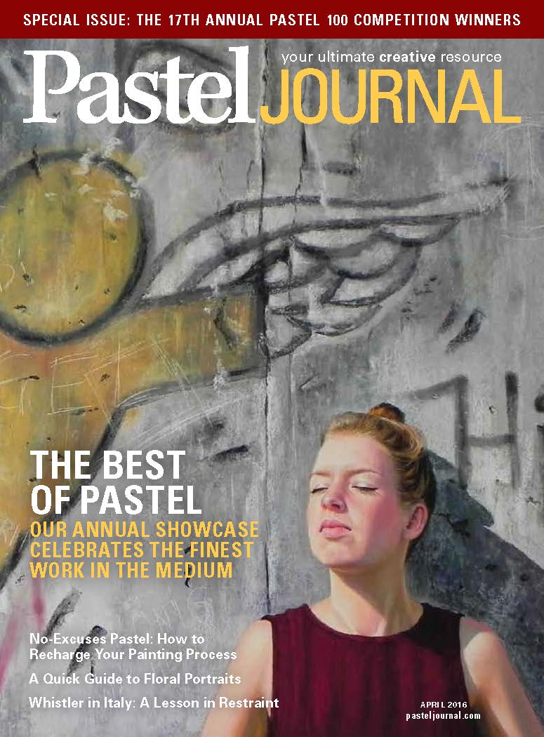 Pastel Journal April 2016 Cover